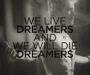 jared leto, dreamer, and 30 seconds to mars image