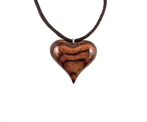etsy, wood heart necklace, and Valentine Day image