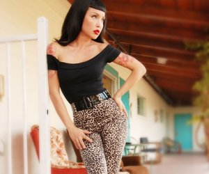 fashion, pin-up, and vintage image