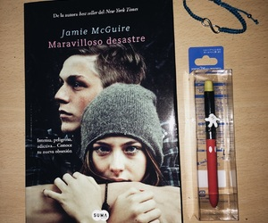 beautiful disaster, book, and love image