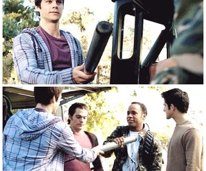 Mason, stiles, and scott image