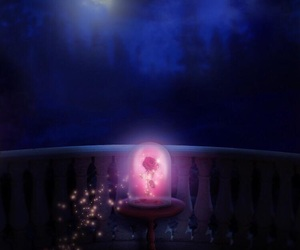 disney, rose, and beauty&thebeast image