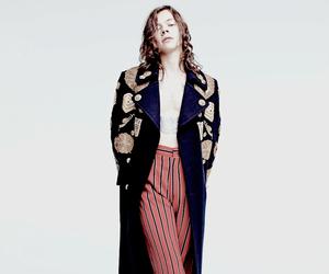 blue coat, boy, and fashion image