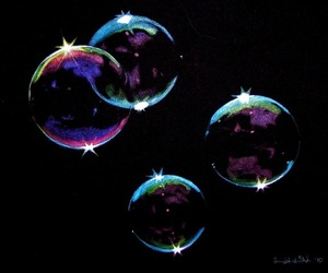 bubbles and drawing image