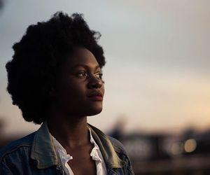 natural beauty, natural hair, and afro hair image