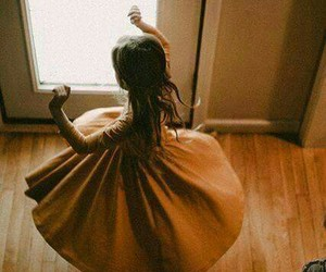 dancing, lovely, and dress image
