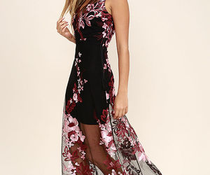 black, Prom, and sheer image