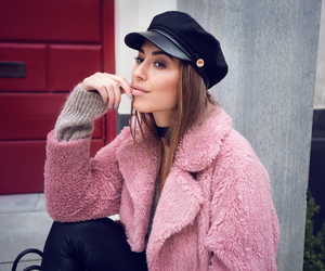 brunette, fashion, and style image