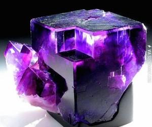 purple, crystal, and fluorite image