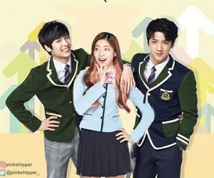 dahyun, yuto, and wooseok image