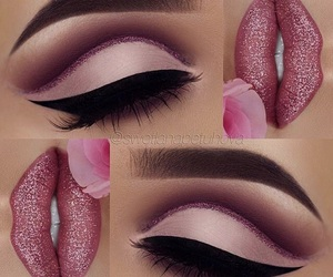 inspiration, pink, and make up image