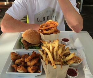 burger, delicius, and food image