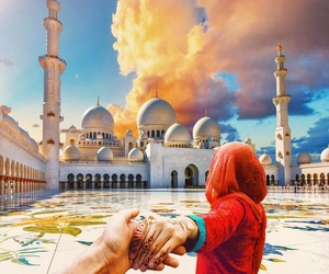 couples, mosque, and photography image