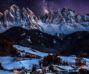 italy, stars, and mountains image