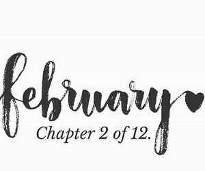 february, quotes, and chapter 2 of 12 image