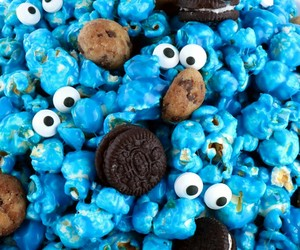 blue and food image