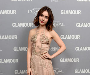 lily collins style image