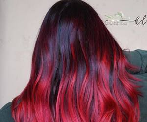girls, hair, and ombre image