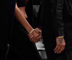 couple, black, and tattoo image