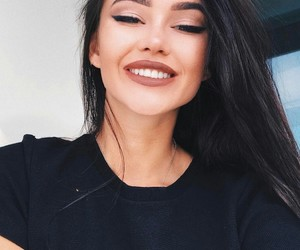 babe, beauty, and smile image