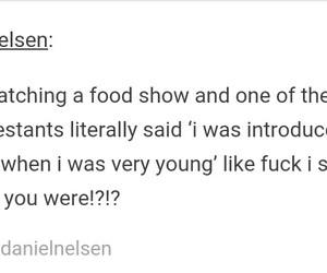 food, funny, and tumblr image