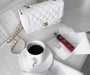bag, white, and chanel image