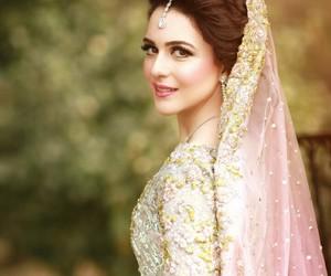 bride, cream, and pakistan image