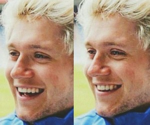 smile, directioner, and niall image