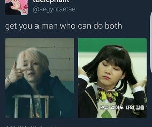 funny, meme, and bts image
