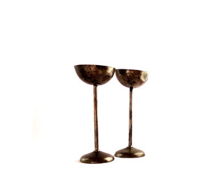 brass, candleholders, and vintage image