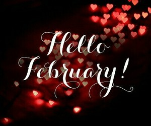 february, month, and cute image