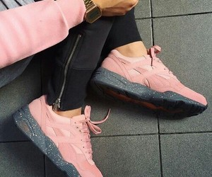 pink, snicker, and puma image