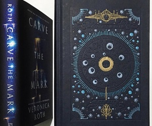 book, carve, and four image