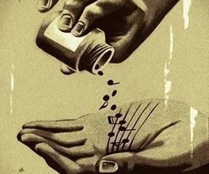 hand, music, and medicine image