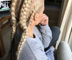hair pretty girl blond image