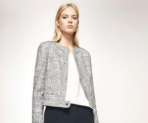 herringbone, tweed, and jacket image