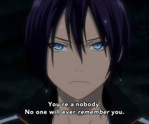 noragami, anime, and quotes image