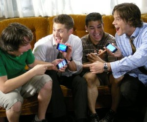 funny, jensen, and guys image