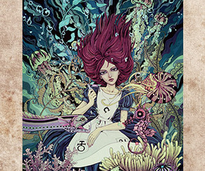 fish, game, and girl image