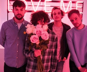 the 1975, love me, and pink image