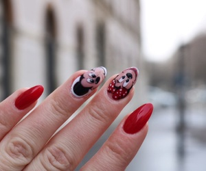 disney, nails, and pretty image