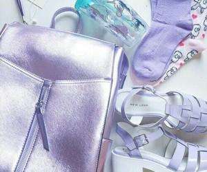 fashion, pastel, and purple image
