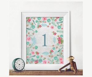 etsy, baby birthday decor, and girl's birthday art image