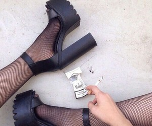 boot, fashion, and marlboro image