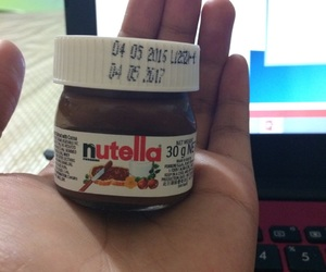 mini, nutella, and cute image