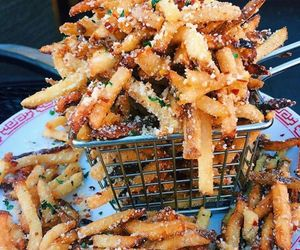 fries, food, and yummy image