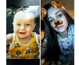 beforeandafter, littlebaby, and 13yearsold image