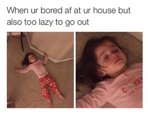Lazy, me, and memes image