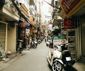 autumn, corner, and hanoi image