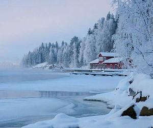 snow lake image